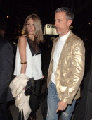 Donna Air and Patrick Cox during 2007 Burns Night Party Arrivals at St Martins Lane Hotel in London Great Britain