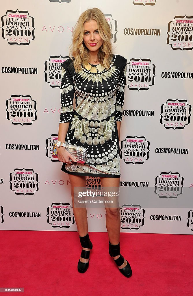 Donna Air arrives for the 'Cosmopolitan Ultimate Women Of The Year Awards 2010' at Banqueting House on November 2, 2010 in London, England.