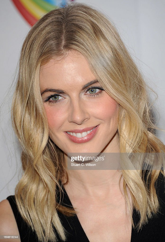 Donna Air attends a fundraising event in aid of The Health Lottery hosted by Simon Cowell at Claridges Hotel on March 28, 2013 in London, England.