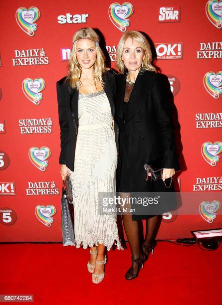 Donna Air attends the 60th Birthday Celebration of Richard Desmond at Old Billingsgate Market on December 8 2011 in London England