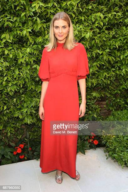 Donna Air attends the British Fashion Council's 2017 Fashion Trust grant recipients announcement on May 24 2017 in London England