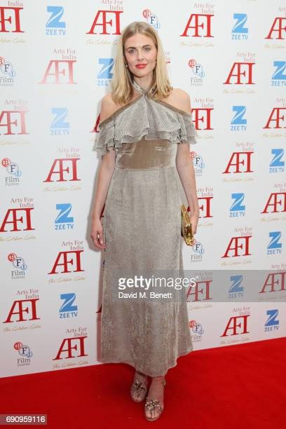 Donna Air attends The Golden Gala in aid of Arts For India at BAFTA Piccadilly on May 31 2017 in London England