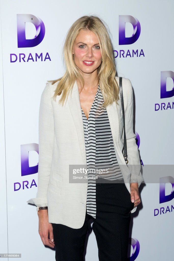 <a gi-track='captionPersonalityLinkClicked' href=/galleries/search?phrase=Donna+Air&family=editorial&specificpeople=209184 ng-click='$event.stopPropagation()'>Donna Air</a> attends the launch of the new UKTV channel 'Drama' on June 27, 2013 in London, England.