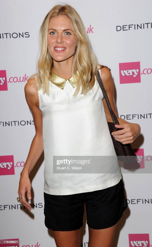Donna Air attends the launch party of very.co.uk's Definiteations range at Somerset House on September 4, 2013 in London, England.