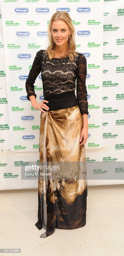 Donna Air attends the Macmillan De'Longhi Art Auction at Royal College of Art on September 23, 2013 in London, England.