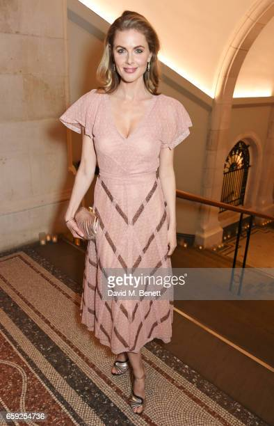 Donna Air attends the Portrait Gala 2017 sponsored by William Son at the National Portrait Gallery on March 28 2017 in London England