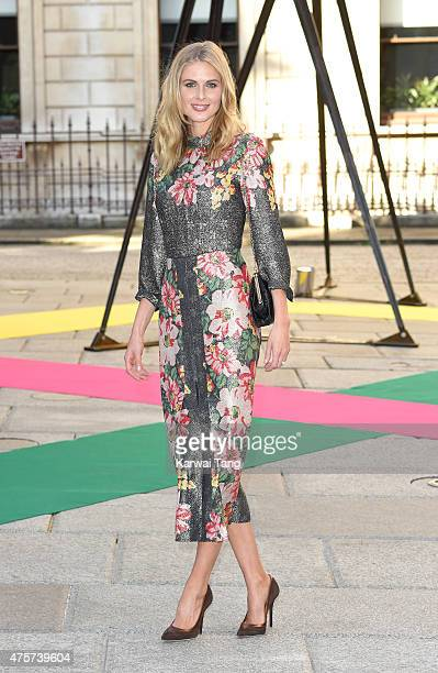 Donna Air attends the Royal Academy of Arts Summer Exhibition at the Royal Academy on June 3 2015 in London England