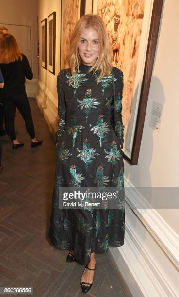 Donna Air attends the Warrior Games Exhibition VIP preview party sponsored by Chantecaille and hosted by HRH Princess Eugenie Waris Ahluwalia and...