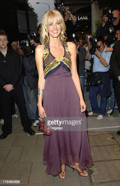 Donna Air during The Art of Fashion Arrivals at The Dorchester in London Great Britain