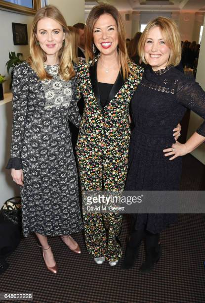 Donna Air Heather Kerzner and Mika Simmons attend the 'Turn The Tables' lunch hosted by Tania Bryer and James Landale in aid of Cancer Research UK at...