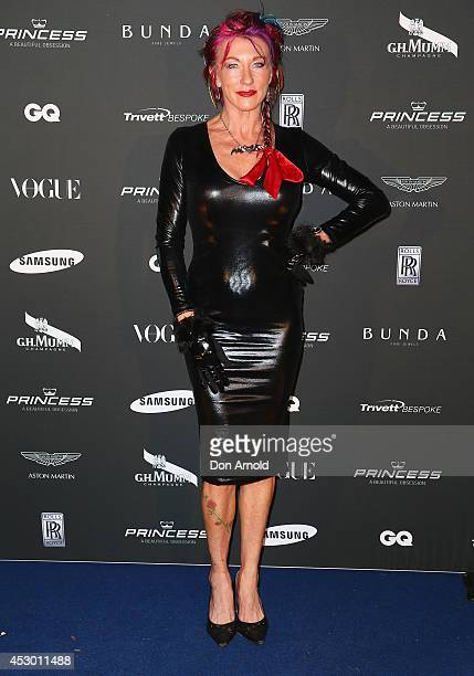 Donna Bailey attends the Princess Yachts launch evening at Rose Bay Marina on August 1 2014 in Sydney Australia