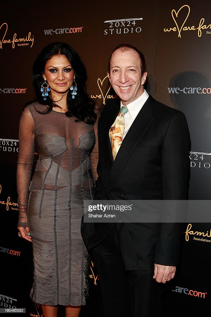Donna D'Cruz (L) and founder & CEO, Tommy Boy Entertainment, Tom Silverman attend 2013 We Are Family Foundation Gala at Hammerstein Ballroom on January 31, 2013 in New York City.