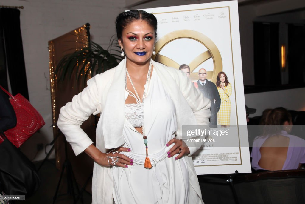 Donna D'Cruz attends a special screening of the new film 'Kingsman The Golden Circle' at Metrograph on September 13, 2017 in New York City.