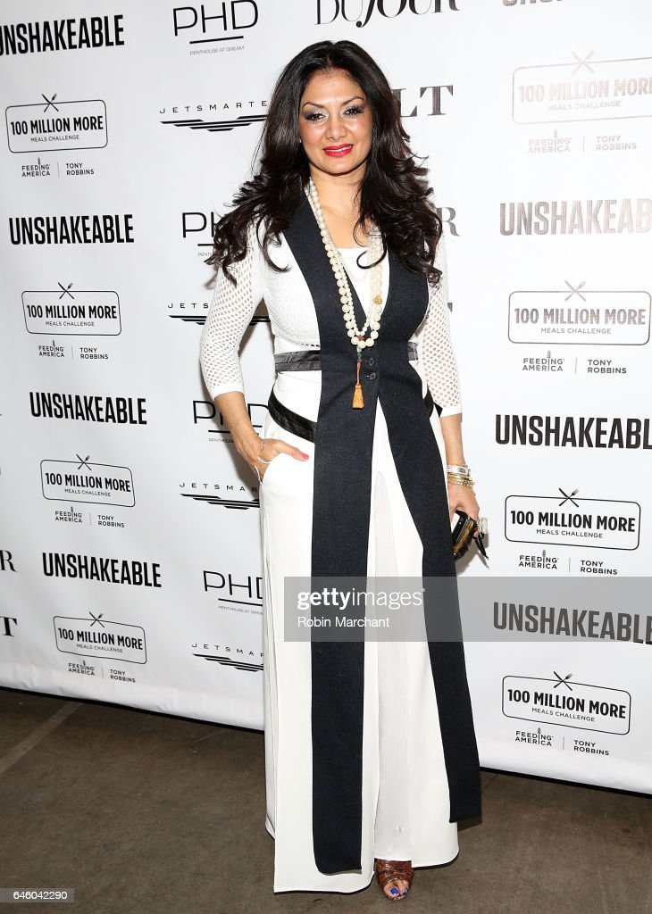 "Tony Robbins ""Unshakeable"" Book Launch Party & Birthday Celebration"