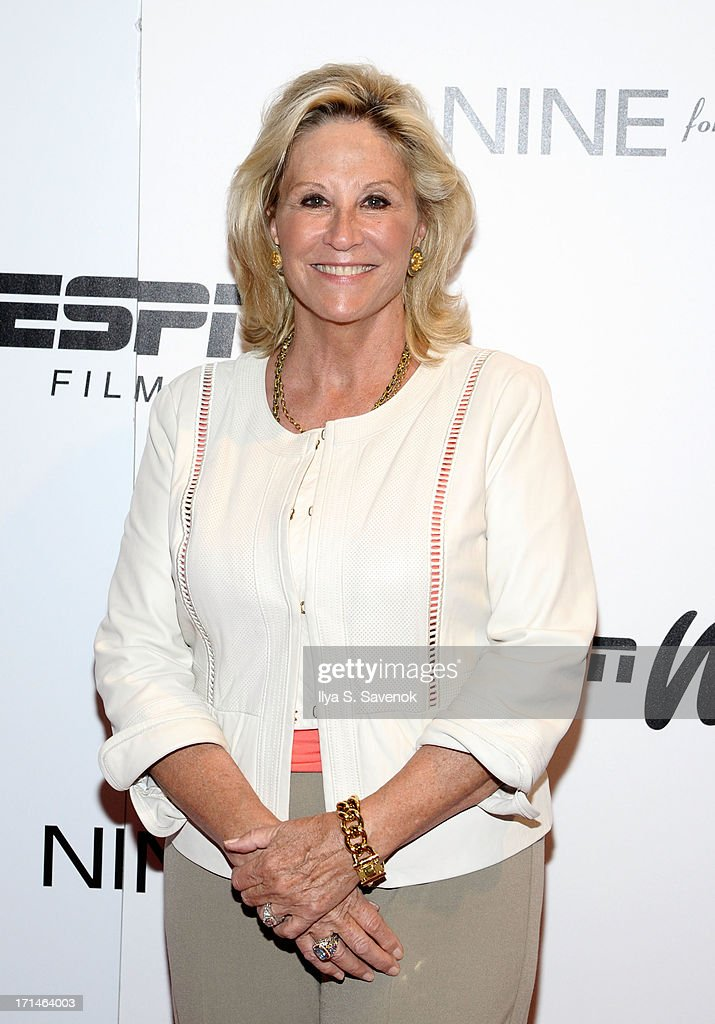 Donna de Varona attends 'Venus Vs.' and 'Coach' New York Special Screenings at Paley Center For Media on June 24, 2013 in New York City.