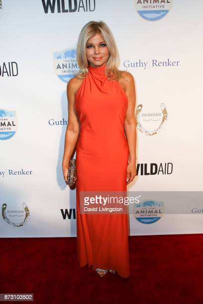 Donna D'Errico arrives at the Evening with WildAid at the Beverly Wilshire Four Seasons Hotel on November 11 2017 in Beverly Hills California