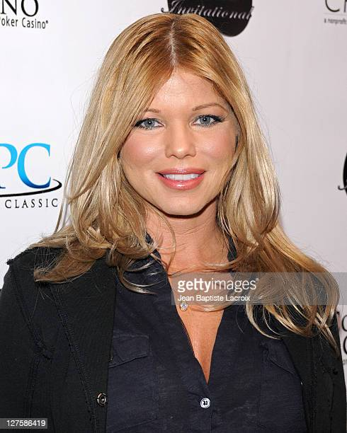 Donna D'Errico attends the 2011 World Poker Tour Celebrity Tournament held at Commerce Casino on February 19 2011 in City of Commerce California