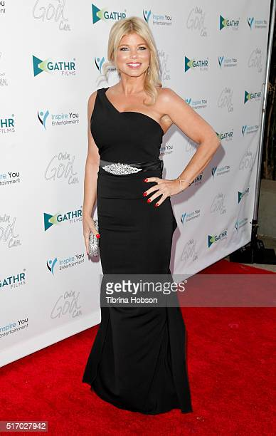 Donna D'Errico attends the premiere of 'Only God Can' at Laemmle NoHo 7 on March 22 2016 in North Hollywood California
