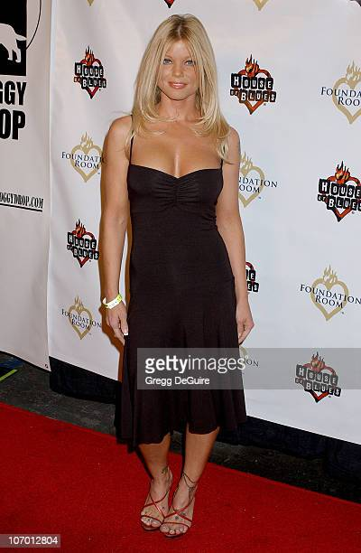 Donna D'Errico during Operation Doggy Drop Benefiting Aid to Pets Devastated by Hurricanes Katrina and Rita Arrivals at House of Blues in West...