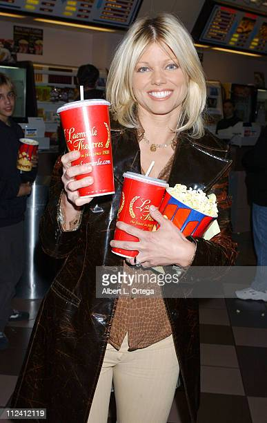 Donna D'Errico during Screening of 'Comic Book The Movie' at Laemlle Sunset 5 Theatre in West Hollywood California United States