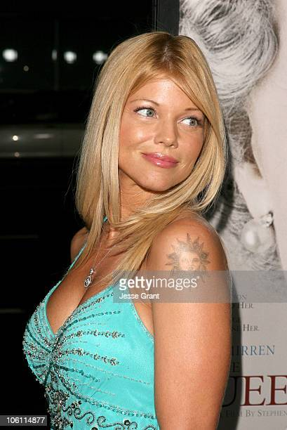 Donna D'Errico during 'The Queen' Los Angeles Premiere Arrivals at Academy of Motion Picture Arts and Sciences in Beverly Hills California United...