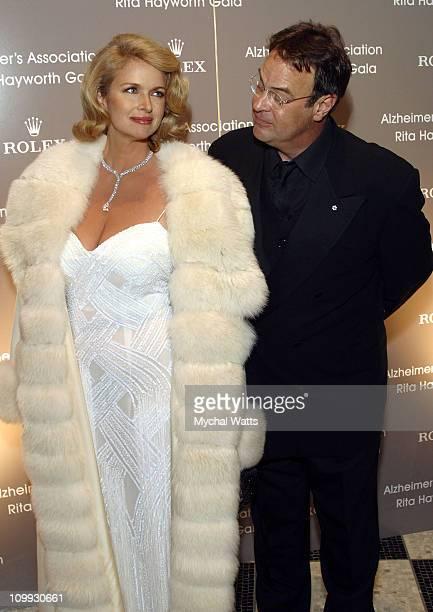Donna Dixon Aykroyd and Dan Aykroyd during 19th Annual Rita Hayworth Gala The Magic of Mardi Gras at Waldorf Astoria in New York City New York United...