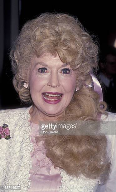 Donna Douglas attends 54th Annual Golden Apple Awards on December 11 1994 at the Beverly Hilton Hotel in Beverly Hills California