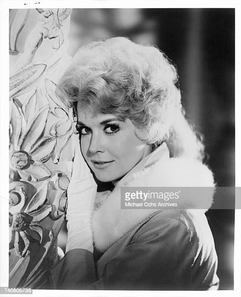 Donna Douglas in a publicity portrait from the television series 'The Hillbillies' 1965