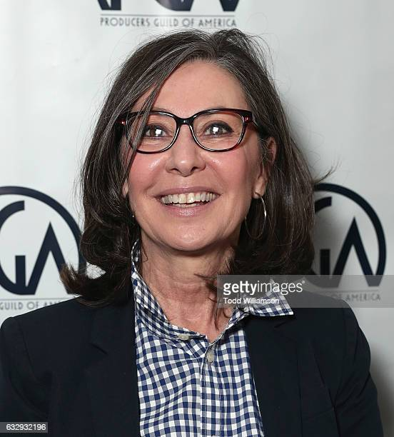 Donna Gigliotti attends the 28th Annual Producers Guild Awards Nominees Breakfast at Saban Theatre on January 28 2017 in Beverly Hills California