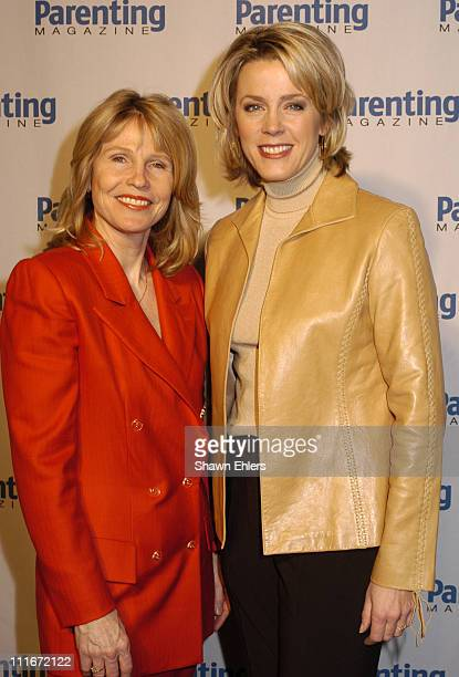 Donna Hanover and Deborah Norville during Parenting Magazine Hosts a Special Honors Luncheon at Le Cirque in New York City New York United States