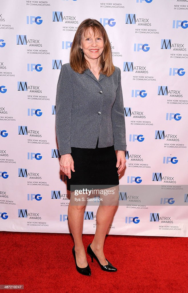 <a gi-track='captionPersonalityLinkClicked' href=/galleries/search?phrase=Donna+Hanover&family=editorial&specificpeople=215372 ng-click='$event.stopPropagation()'>Donna Hanover</a> attends the 2014 Matrix Awards at The Waldorf=Astoria on April 28, 2014 in New York City.