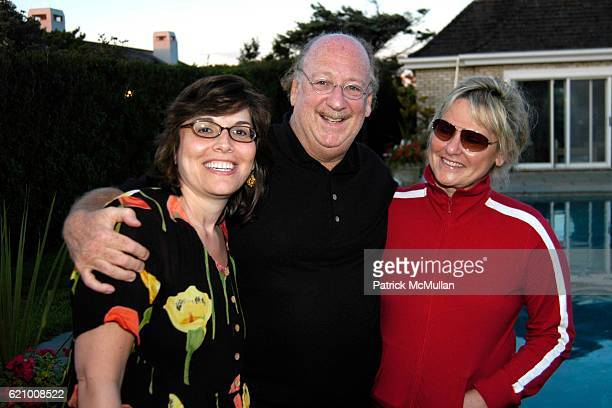 Donna Heart John Olken and Linda Tesa attend IZZE Della Femina Party hosted by Michael Della Femina and Matti Leshem at Private Residence on August...