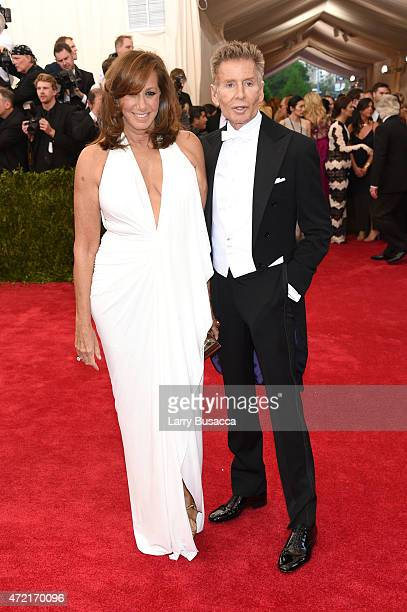 Donna Karan and Calvin Klein attend the 'China Through The Looking Glass' Costume Institute Benefit Gala at the Metropolitan Museum of Art on May 4...