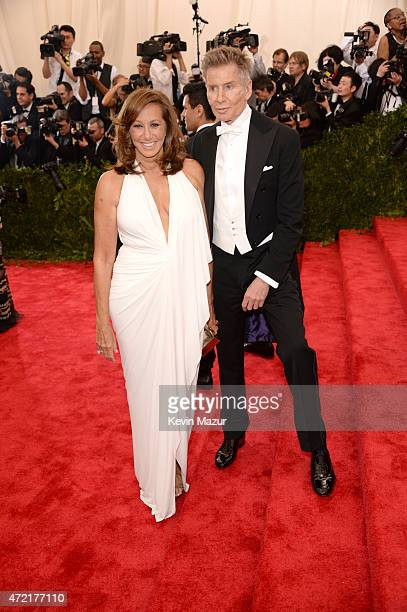 Donna Karan and Calvin Klein attend the 'China Through The Looking Glass' Costume Institute Benefit Gala at Metropolitan Museum of Art on May 4 2015...