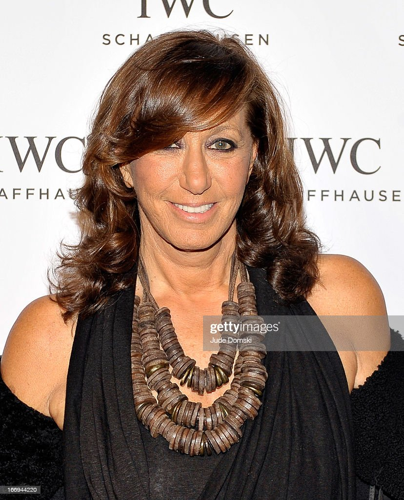 Donna Karan attends IWC And Tribeca Film Festival Celebrate 'For The Love Of Cinema' held at the Foundation she founded, Urban Zen, on April 18, 2013 in New York City.