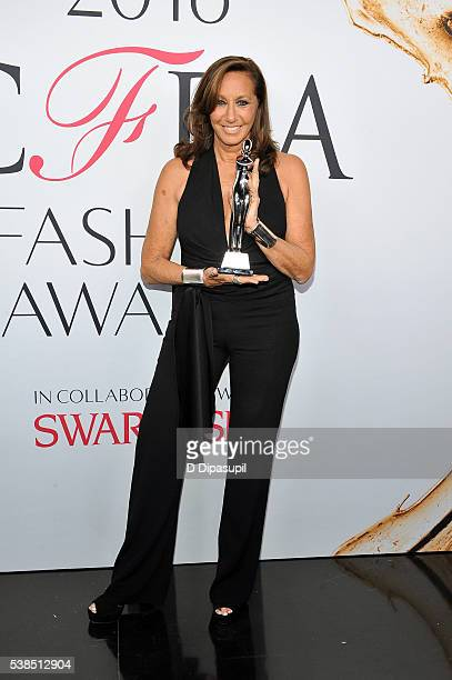 Donna Karan attends the 2016 CFDA Fashion Awards at the Hammerstein Ballroom on June 6 2016 in New York City