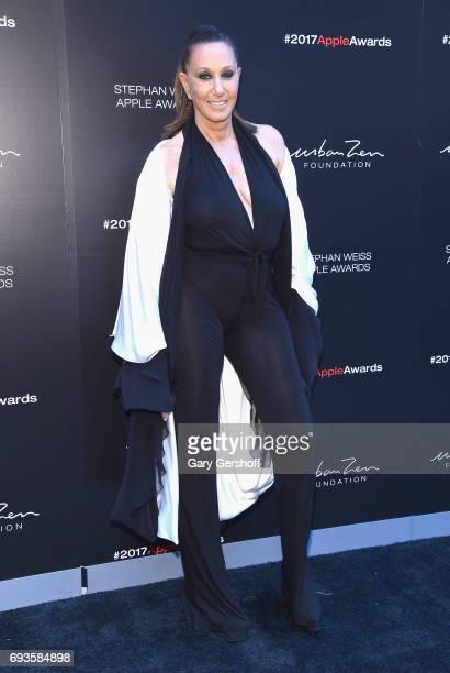 Donna Karan attends the 2017 Stephan Weiss Apple Awards at The Urban Zen Center on June 7 2017 in New York City