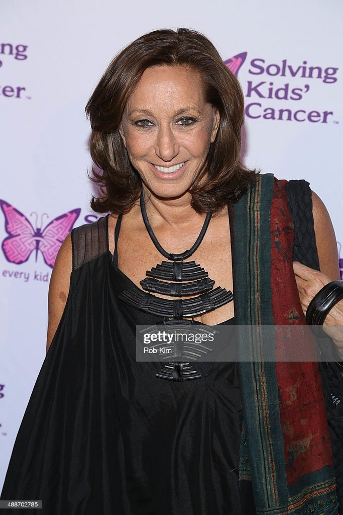 <a gi-track='captionPersonalityLinkClicked' href=/galleries/search?phrase=Donna+Karan+-+Fashion+Designer&family=editorial&specificpeople=4206478 ng-click='$event.stopPropagation()'>Donna Karan</a> attends the fifth annual Solving Kids' Cancer Spring Celebration at 583 Park Avenue on May 7, 2014 in New York City.