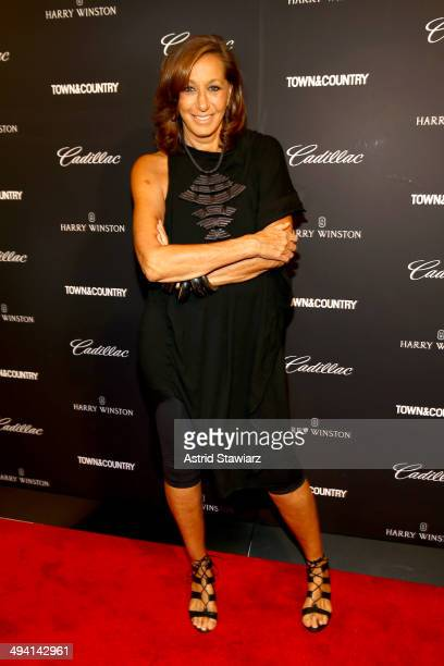 Donna Karan attends the TC Philanthropy Summit with screening of 'Generosity Of Eye' at Lincoln Center with Town Country on May 28 2014 in New York...