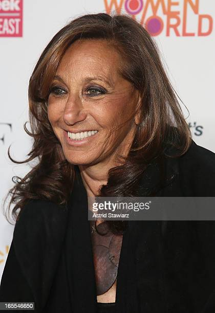 Donna Karan attends Women in the World Summit 2013 on April 4 2013 in New York United States
