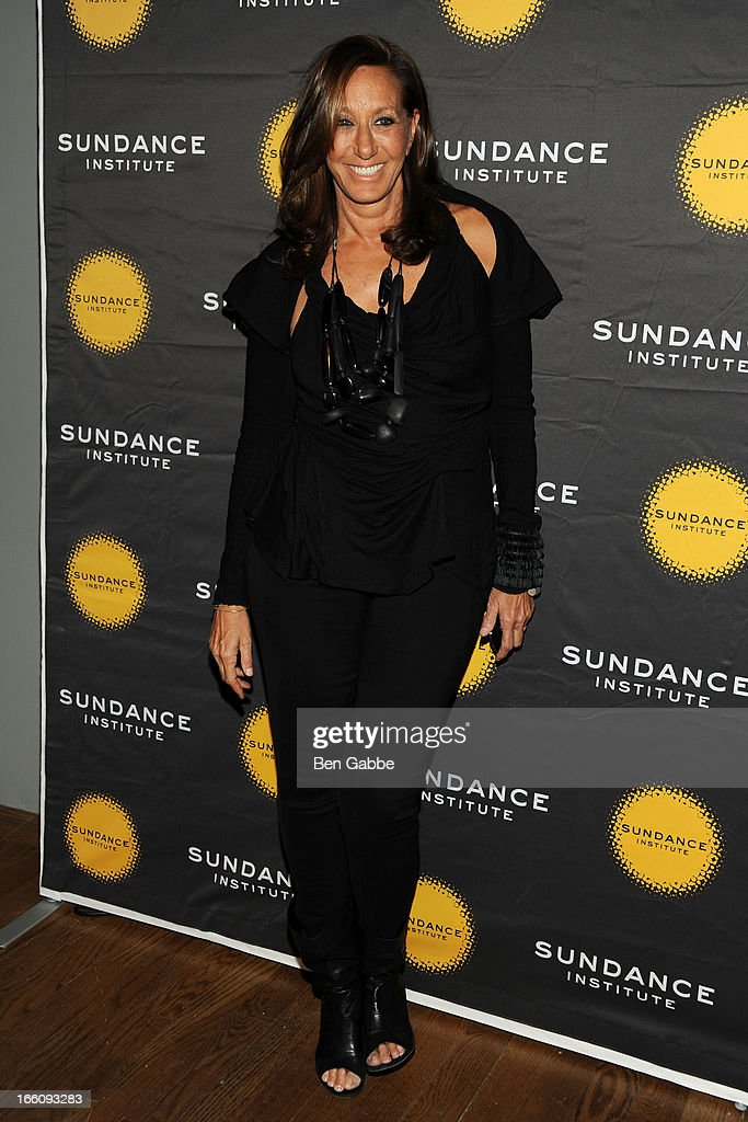 Donna Karen attends the 2013 Sundance Institute Theatre Program Benefit at Stephen Weiss Studio on April 8, 2013 in New York City.