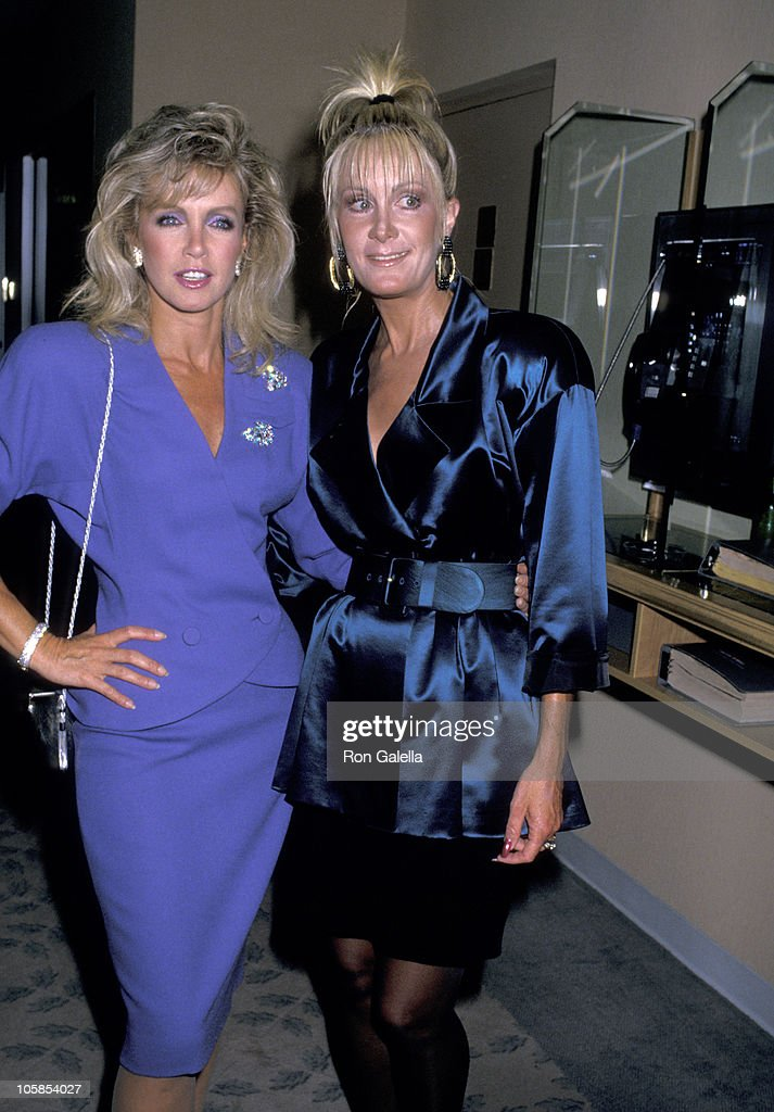<a gi-track='captionPersonalityLinkClicked' href=/galleries/search?phrase=Donna+Mills&family=editorial&specificpeople=217252 ng-click='$event.stopPropagation()'>Donna Mills</a> and <a gi-track='captionPersonalityLinkClicked' href=/galleries/search?phrase=Joan+Van+Ark&family=editorial&specificpeople=625430 ng-click='$event.stopPropagation()'>Joan Van Ark</a> during 1987 National Conference of Christians and Jews at The Beverly Hilton Hotel in Beverly Hills, CA, United States.