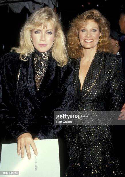 Donna Mills and Mary Frann during 3rd Annual Commitment To Life AIDS Project Benefit at Wiltern Theater in Los Angeles California United States