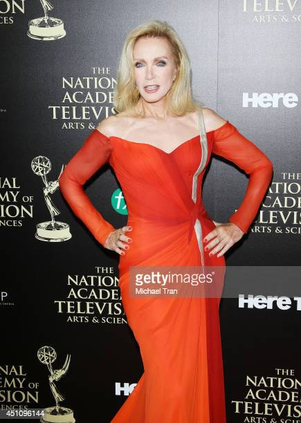 Donna Mills arrives at the 41st Annual Daytime Emmy Awards held at The Beverly Hilton Hotel on June 22 2014 in Beverly Hills California