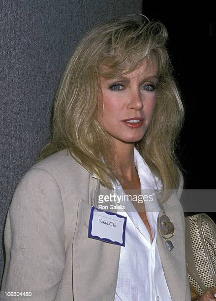 Donna Mills during Conference for Global Problems at Lorimar Pictures Studios in Culver City California United States