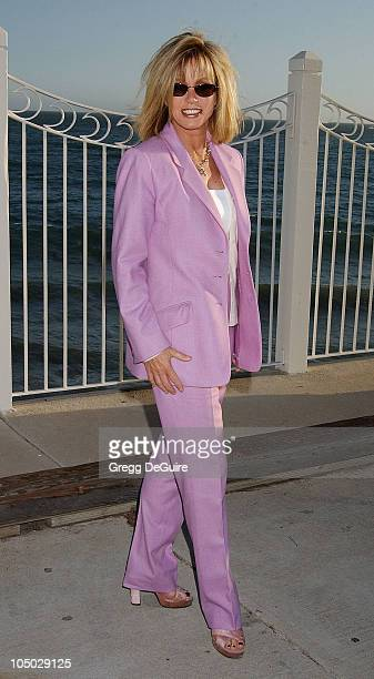 Donna Mills during Hollywood Stars Join ECO And Greenpeace To Launch Awareness Of Clean Energy Solutions at Moonshadows in Malibu California United...