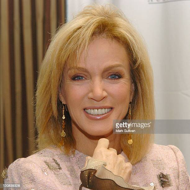 Donna Mills during John Wayne Cancer Institute Auxilirary Annual Membership Luncheon and Fashion Show at Regent Beverly Wilshire Hotel in Beverly...