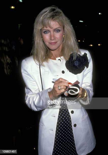 Donna Mills during Opening Night of 'Byron Mad Bad Dangerous to Know' at Ahmanson Theater at Music Center in Los Angeles California United States