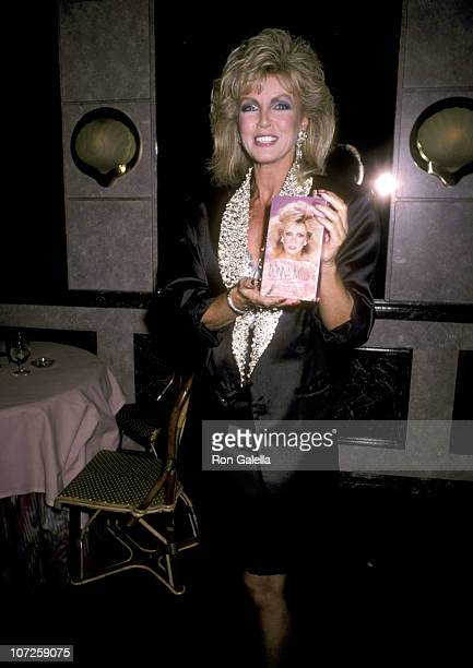 Donna Mills during Party For Donna Mills' Beauty Video 'Donna Mills The Eyes Have It' at Le Dome Restaurant in West Hollywood California United States