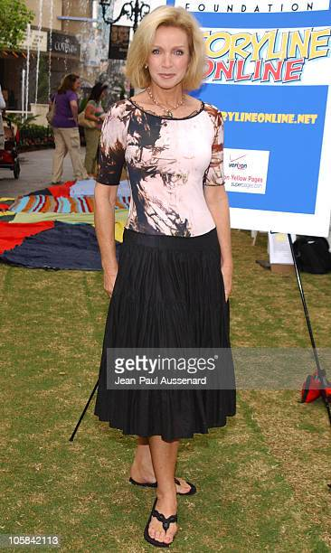 Donna Mills during Screen Actors Guild Foundation and Verizon Announce New Season of Storyline Online at The Grove in West Los Angeles California...